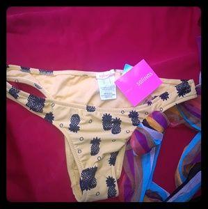 Salinas Pineapple Bikini Bottoms (Amarra)